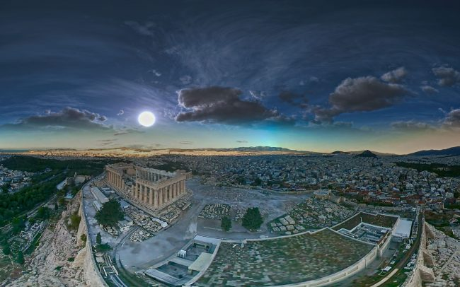 VR360 VIDEO ACROPOLIS MONUMENTS