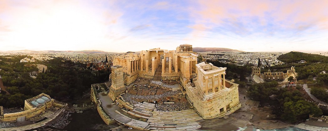 VR360.GR ACROPOLIS 360 VIDEO-SERVICES